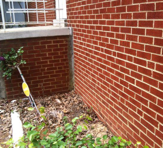 foundation crack repair in Arlington VA